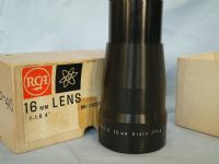 "'  16mm 4"" 1.6 BOXED  '  Somco  4"" 1.6 Projection Lens  -BOXED-MINT-NICE- £49.99"